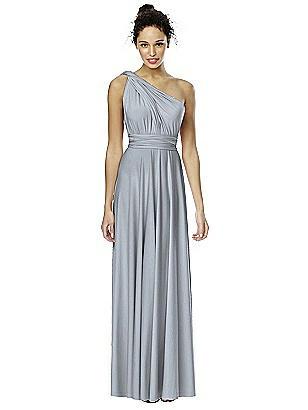 Twist Wrap Dress: Long