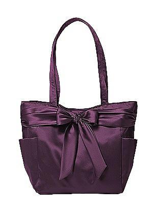Fashion Tote Bag in Matte Satin