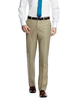 1920s Style Men's Pants & Plus Four Knickers Classic Summer Suit Flat Front Pants by After Six $59.00 AT vintagedancer.com