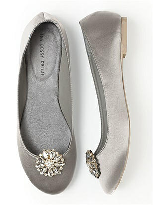 Jeweled Sunflower Shoe Clip $19.00 AT vintagedancer.com