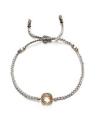 Friendship Bracelet with Stone Detail