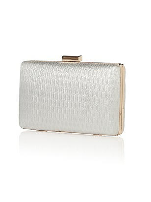 Vintage Inspired Wedding Accessories Gem Metallic Brocade Minaudiere $28.00 AT vintagedancer.com