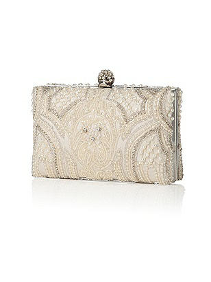 Vintage Inspired Wedding Accessories Hayden Estate Jeweled Bridal Minaudiere $199.00 AT vintagedancer.com