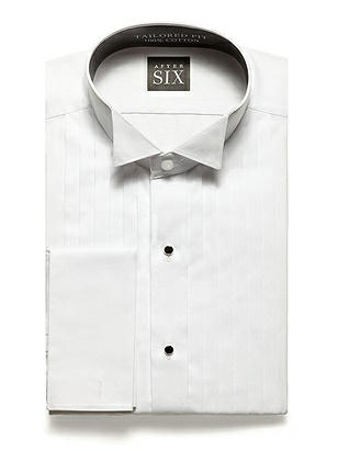 The Graham - Wing Collar Tuxedo Shirt $60.00 AT vintagedancer.com