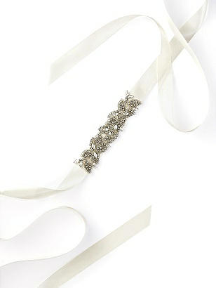 Vintage Inspired Wedding Accessories Ava Sash $35.00 AT vintagedancer.com