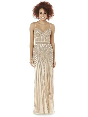 After Six Cameo Long Prom Dress Olivia