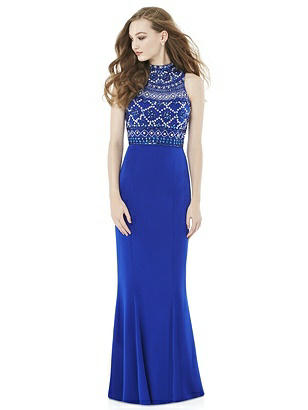 After Six Royal Blue Long Prom Dress Lily