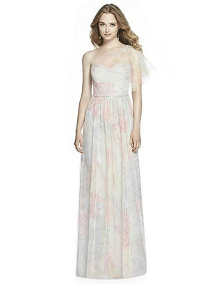 1960s Dresses – A Rainbow of 50 Dresses (Pictures) Jenny Packham Bridesmaid Style JP1003 Prints $292.00 AT vintagedancer.com