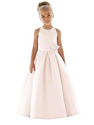 Vintage Inspired Wedding Accessories Special Order Flower Girl Dress FL4058  AT vintagedancer.com