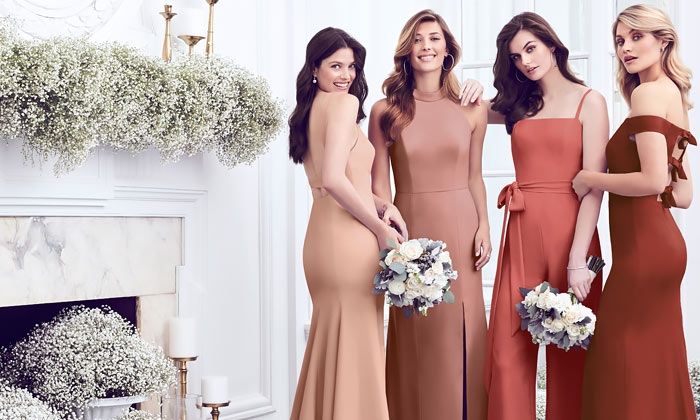 Mix N Match Bridesmaid Dresses