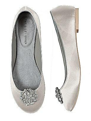 Vintage Style Wedding Shoes, Boots, Flats, Heels Jeweled Shoe Clip $21.00 AT vintagedancer.com