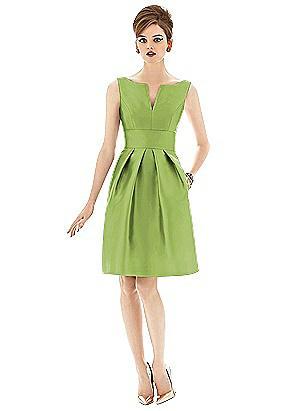 1960s Style Formal Dresses Special Order Alfred Sung Style D654 $200.00 AT vintagedancer.com