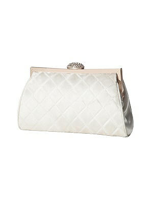 Vintage Inspired Wedding Accessories Quilted Olivia Clutch with Jeweled Clasp $28.00 AT vintagedancer.com