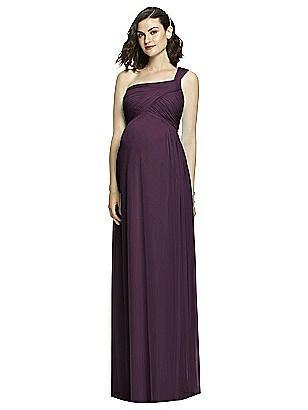 0ab017694c0 aubergine Alfred Sung Maternity Dress Style M427