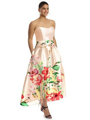 1950s Prom Dresses & Party Dresses Special Order Alfred Sung Style D699CP $261.00 AT vintagedancer.com