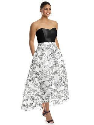 Alfred Sung Bridesmaid Dress D755FP | The