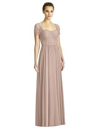 1940s Style Wedding Dresses and Accessories Special Order JY Jenny Yoo Bridesmaid Style JY521 $273.00 AT vintagedancer.com