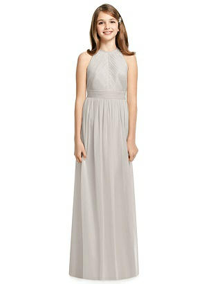 d4eef74cac oyster Dessy Collection Junior Bridesmaid Dress JR539