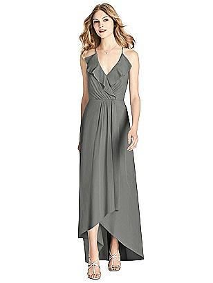 cbb6fdbcdab charcoal gray Jenny Packham Bridesmaid Dress JP1006