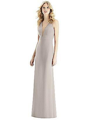 2b695d5dcc taupe Bella Bridesmaids Dress BB111