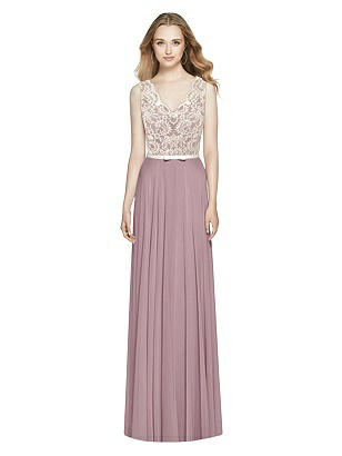 802b42c449c dusty rose After Six Bridesmaid Dress 6773
