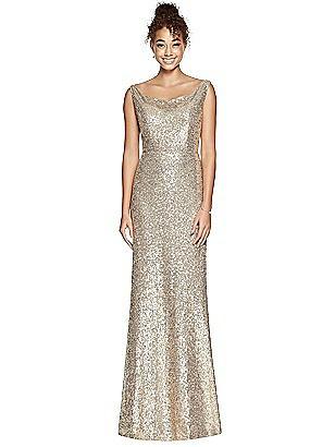 d83e4e17073 gold Studio Design Bridesmaid Dress 4531