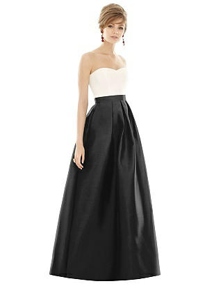 black Alfred Sung Bridesmaid Dress D755 3a1541a8e