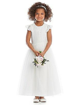 e4bf53c7533 ivory Flower Girl Dress FL4064