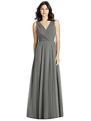 3d32ab7b71f charcoal gray Jenny Packham Bridesmaid Dress JP1019