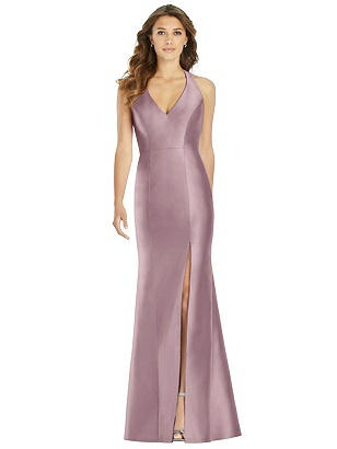 b553e8c734 dusty rose Alfred Sung Bridesmaid Dress D761