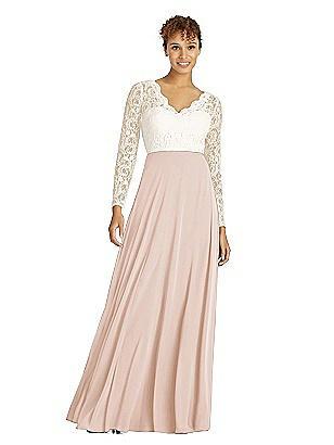9c18a505655 cameo Dessy Bridesmaid Dress 3034