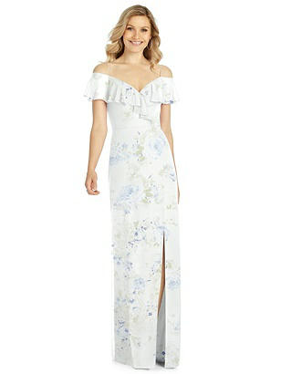 38eb814844 bleu garden After Six Bridesmaid Dress 6809