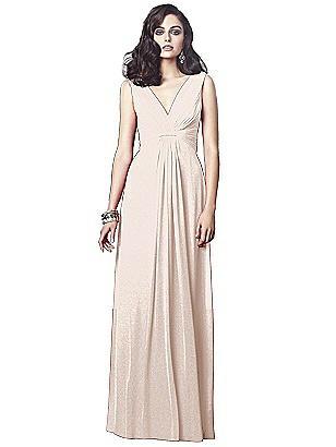c325b0dd9d blush gold Dessy Shimmer Bridesmaid Dress 2907LS