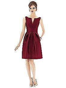 Alfred Sung Bridesmaid Dress D654