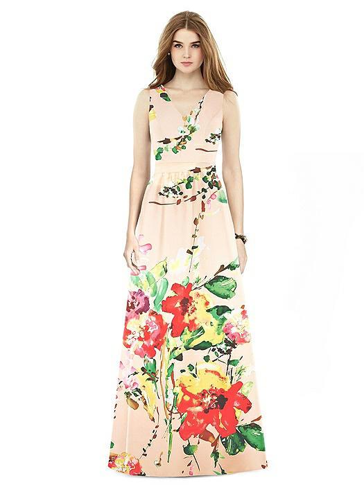 Alfred Sung Bridesmaid Dress D752FP