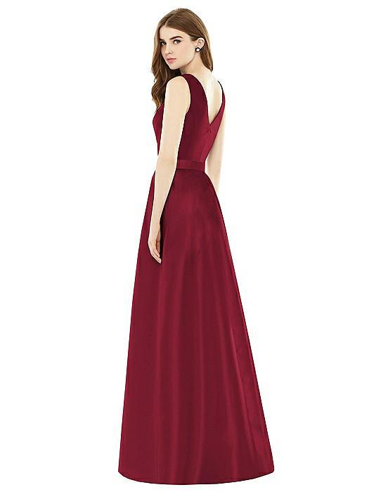 Alfred Sung Bridesmaid Dress D753
