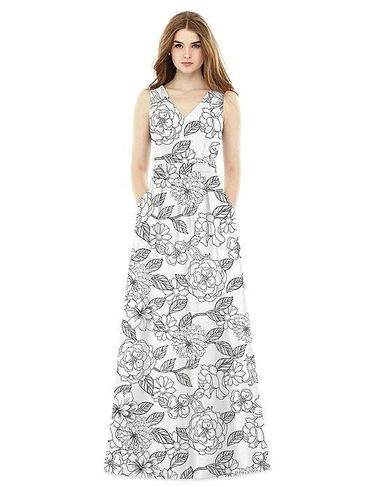 Alfred Sung Bridesmaid Dress D753FP
