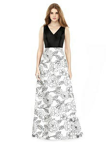 Alfred Sung Bridesmaid Dress D754CP