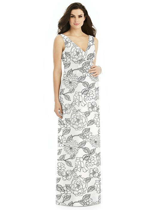 Alfred Sung Maternity Bridesmaid Dress M439FP