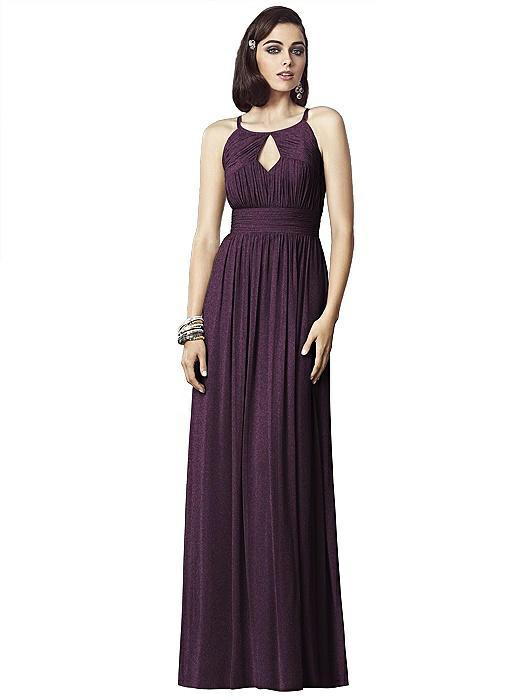 Dessy Shimmer Bridesmaid Dress 2906LS