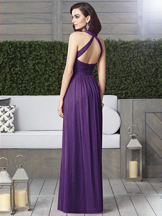Dessy Shimmer Bridesmaid Dress 2908LS