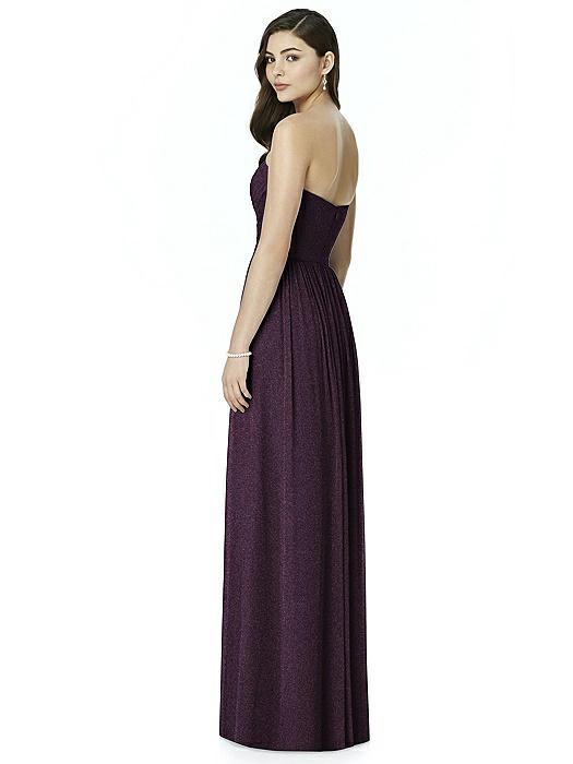 Dessy Shimmer Bridesmaid Dress 2991LS