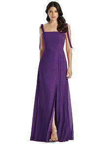Dessy Shimmer Bridesmaid Dress 3042LS