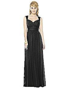 After Six Shimmer Bridesmaid Dress 6712LS