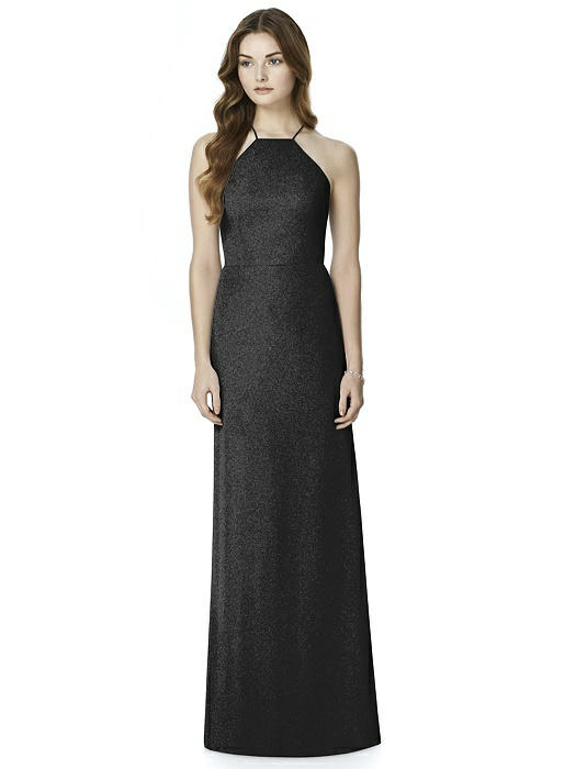 After Six Shimmer Bridesmaid Dress 6762LS
