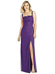 After Six Shimmer Bridesmaid Dress 6811LS