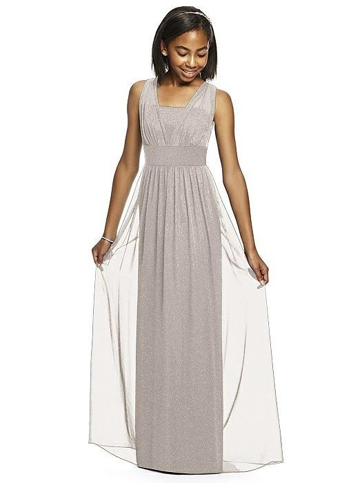 Dessy Shimmer Junior Bridesmaid Dress JR543LS