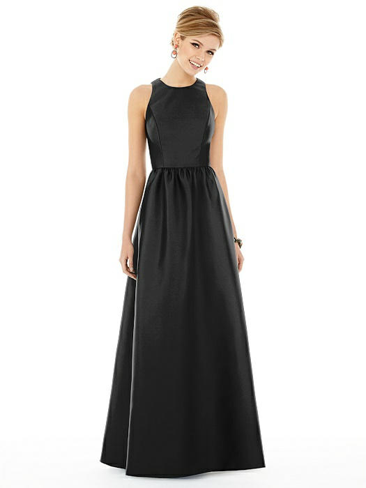 Alfred Sung Bridesmaid Dress D707 On Sale