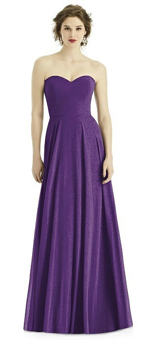 After Six Shimmer Bridesmaid Dress 1504LS