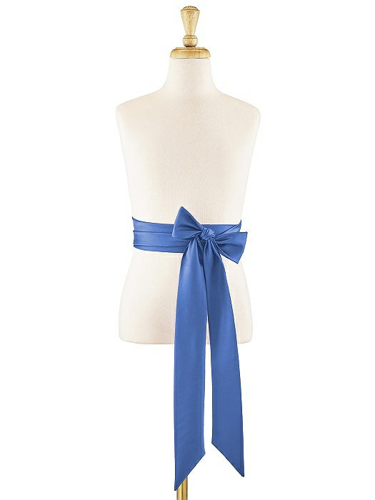 Matte Satin Flower Girl Sash